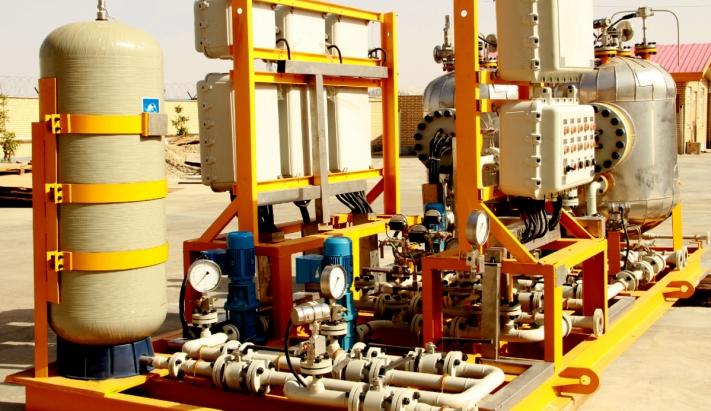 پکیج ضد انفجار گرمایش و تقویت فشار
