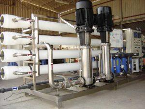 تصفیه آب صنعتی اسمز معکوس