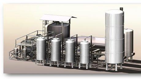 تولید گاز هیدروژن به روش رفورمینگ